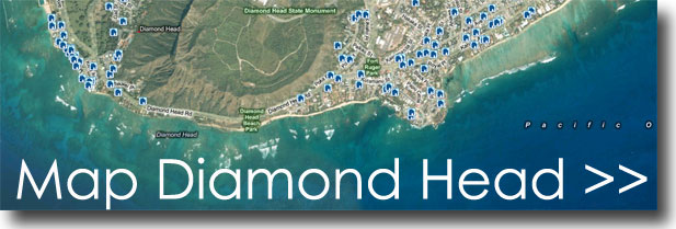 Map MLS Listings in Diamond Head Hawaii