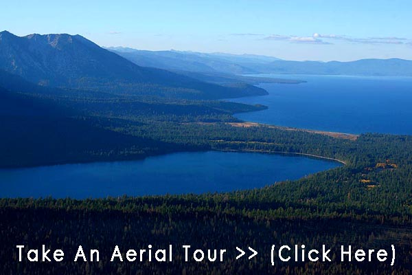 Fallen Leaf Lake Cabins Aerial Tour